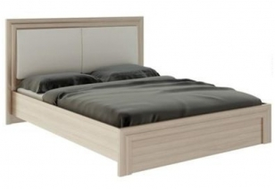 """Кровать 1,6 с ламелями и мягкой частью """"Глэдис"""" М31"""