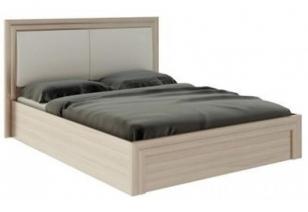 """Кровать 1,6 с подъемным механизмом и мягкой частью """"Глэдис"""" М32"""