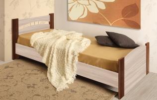 Кровать Луна (900) с бескаркасным осн.