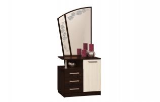 Стол туалетный с зеркалом «Орхидея - 2»